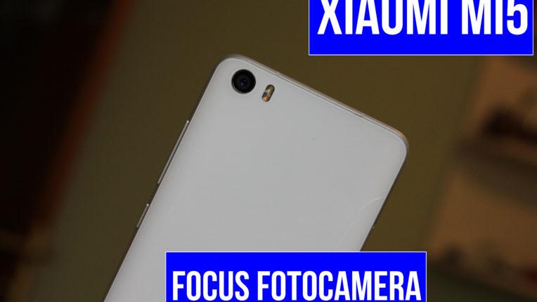 Xiaomi Mi5, focus sul comparto fotografico
